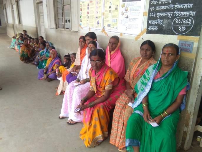 In Sangli district, by 9 pm, the voter turnout was 19.5 percent | Maharashtra Election 2019 :सांगली जिल्ह्यात ३ वाजेपर्यंत ४९.३१ टक्के मतदान
