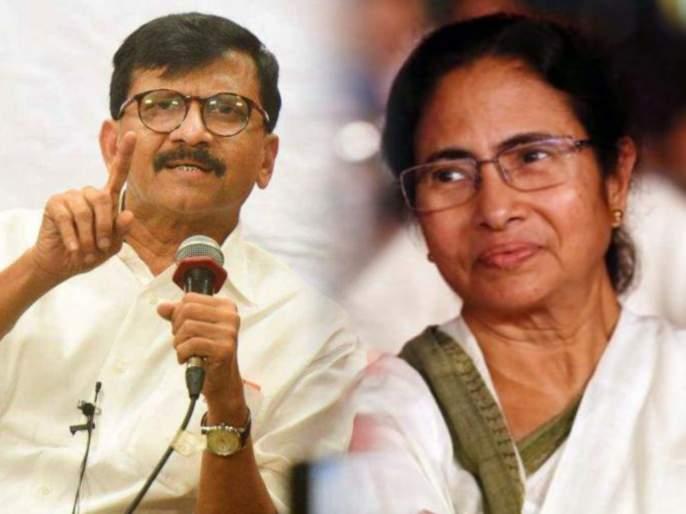 shiv sena sanjay raut criticised bjp over eci imposed ban on mamata banerjee | ममता बॅनर्जींच्या प्रचारबंदीमागे भाजप, हा तर लोकशाहीवर थेट हल्ला: संजय राऊत