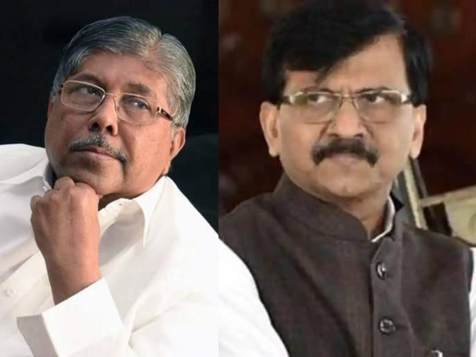 Raut can't sleep without criticizing BJP; Chandrakant Patil's counterattack   भाजपवर टीका केल्याशिवाय राऊतांना झोप लागत नाही; चंद्रकांत पाटील यांचा पलटवार