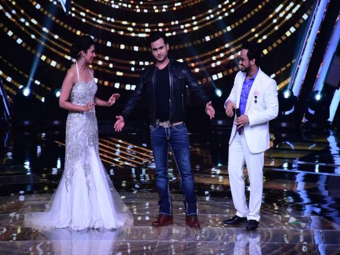 Sanket Bhosale entertains as Salman Khan on The Voice | 'दि व्हॉईस'च्या मंचावर संकेत भोसलेने हुबेहुब साकारला दबंग खान
