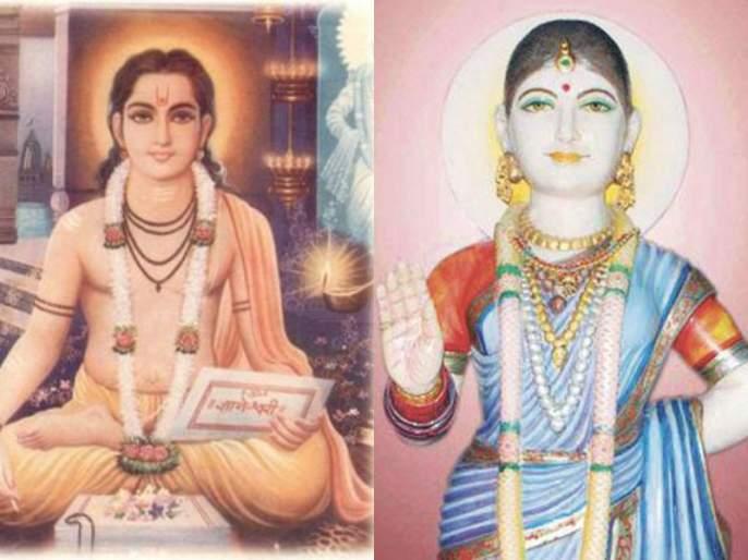 Spiritual Conversation between Saint Dnyaneshwar and Saint Muktabai. | तुम्ही तरुनि विश्व तारा, ताटी उघडा ज्ञानेश्वरा!; माऊलींची माऊलीने काढलेली समजूत.