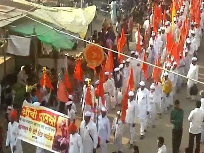 Sant Gajanan Maharaj's palakhi news | Ashadhi Ekadashi Special: संत गजानन महाराज यांची पालखी शनिवारी शिरपुरात