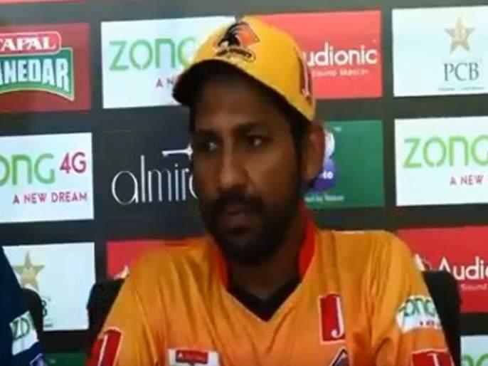 WATCH: Who would come to watch you in Pakistan T20 Cup? Journalist insults Sarfaraz Ahmed | Video : पत्रकारानं चार चौघांत काढले पाकिस्तान कर्णधाराचे वाभाडे...