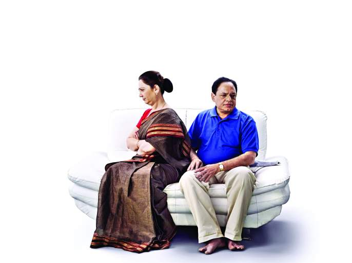 Conflicts with spouse in Sixty.. | साठीच्या सहजीवनातले अवघड पेच.