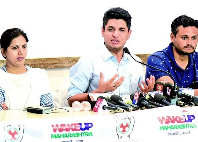 Opportunity for youth only in Congress: Satyajit Tambe | युवकांना संधी फक्त काँग्रेसमध्येच : सत्यजित तांबे