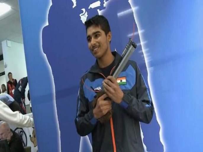 Silver to Saurabh Chowdhury | युवा नेमबाज सौरभ चौधरीला रौप्य
