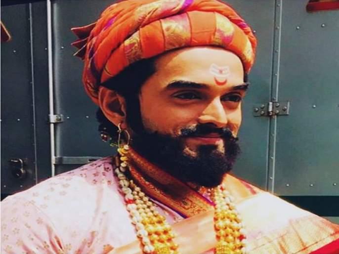Saurabh Gokhale considered Shivaji Maharaj as being thankful | सौरभ गोखलेने शिवाजी महाराजांचे मानले आभार