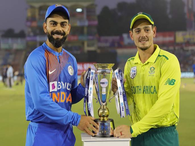 India vs South Africa, 3rd T20 : South Africa win by 9-wickets and level the T20I series | India vs South Africa, 3rd T20 : घरच्या मैदानावर हरला कोहली; दक्षिण आफ्रिकेची मालिकेत बरोबरी