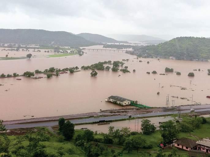 The Savitri River crossed the danger level, alerting the administration   सावित्री नदीने धोक्याची पातळी ओलांडली,प्रशासनाचा सतर्कतेचा इशारा
