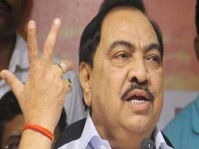 Khadse does not have chance to speech in the CM's rally | मुख्यमंत्र्यांच्या सभेत खडसेंना भाषणाचीही संधी नाही !
