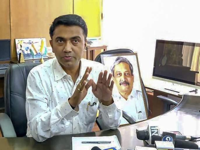 CM's interaction with BJP MLAs in the wake of controversy | वादांच्या पार्श्वभूमीवर भाजपच्या आमदारांशी मुख्यमंत्र्यांचा संवाद