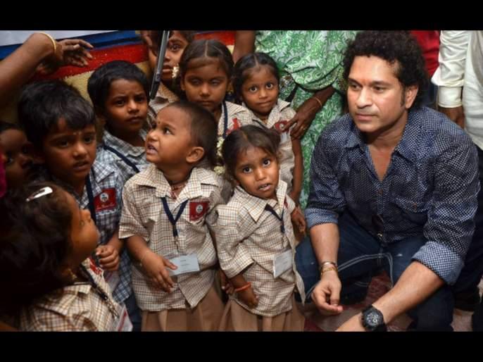 Corona Virus : Sachin Tendulkar Provides Financial Aid To 4000 Underprivileged Children In Mumbai svg | Well Done Sachin... मुंबईतील 4000 वंचित मुलांसाठी सचिन तेंडुलकरची आर्थिक मदत