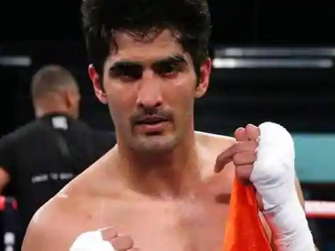 Vijender Singh hopes to return to the ring later in the year   वर्षाअखेर रिंगमध्ये परतण्याची विजेंदर सिंगला आशा