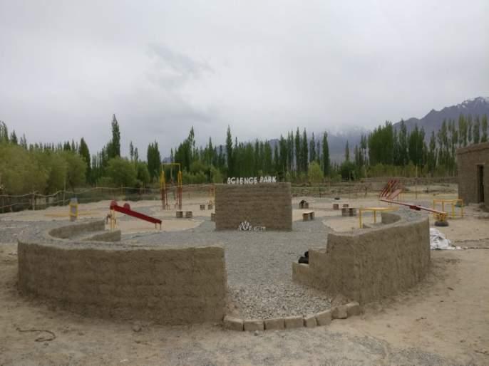 'Science Park' in ladakh by Social media fund | सोशल मीडियावरील निधी संकलनातून लडाख मध्ये उभ राहातयं ' सायन्स पार्क '
