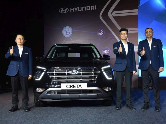 Hyundai Creta launched in India; will give fight to MG Hector See Price | Hyundai Creta नव्या रूपात लाँच, MG Hector ला टक्कर देणार; पाहा किंमत