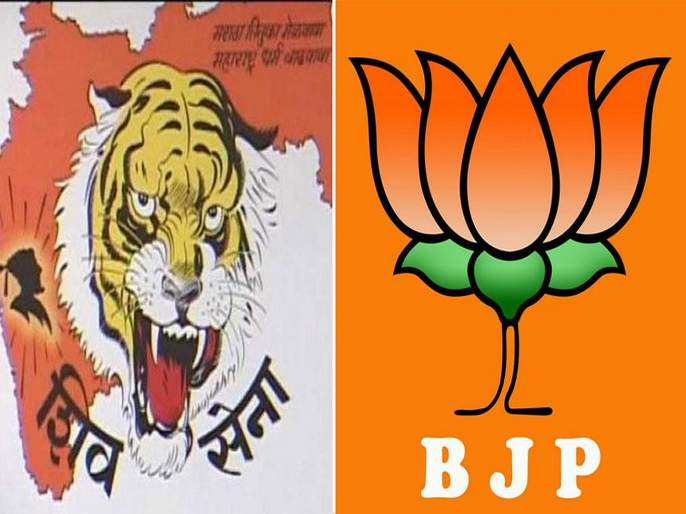 Unrest in the coalition continued even during the election period   निवडणूक काळातही युतीमध्ये बेबनाव कायम