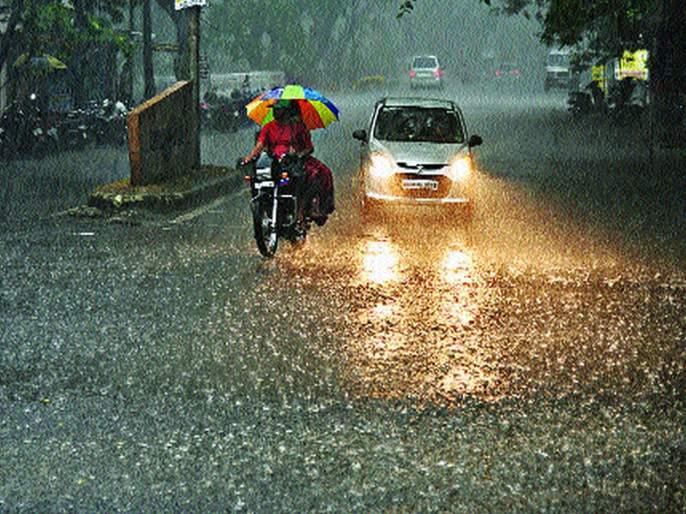 Heavy showers of pre-monsoon rains in the state | राज्यात मान्सूनपूर्व पावसाच्या जोरदार सरी
