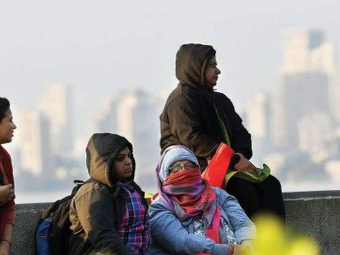 Mumbai's minimum temperature settled at 18 degrees | मुंबईचे किमान तापमान १८ अंशांवर स्थिर