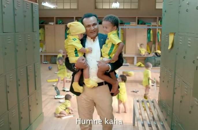 Matthew Hayden replies to Virender Sehwag's babysitting ad on Australia series | India vs Australia : वीरेंद्र सेहवागची बेबी सीटिंग, ऑस्ट्रेलियाचा दिग्गज खेळाडू खवळला