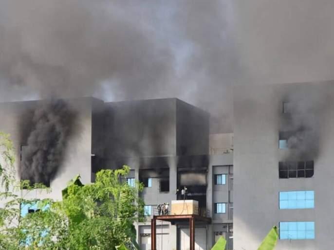 """prakash ambedkar demands probe in serum institutes fire incident   """"सीरमच्या इमारतीला आग लागली की लावली? घटनेची चौकशी व्हावी"""""""