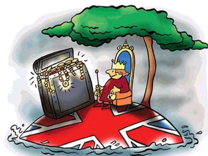 The British robbed India of nearly 3,000 lakh crore rupees   धक्कादायक...! इंग्रजांनी भारताकडून तब्बल तीन हजार लाख कोटींची संपत्ती लुटली