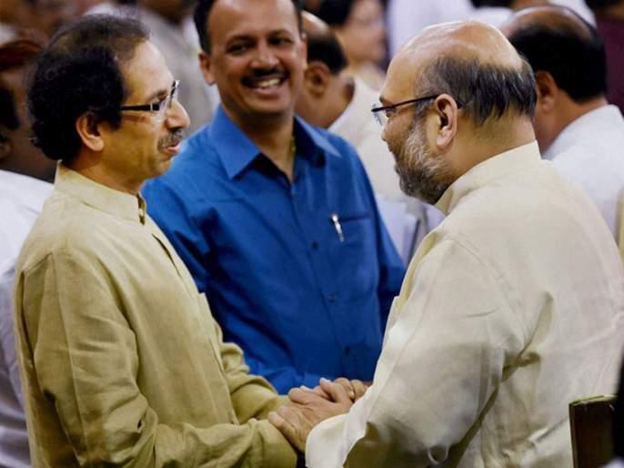 home minister amit shah made his stand clear about alliance with shiv sena   पुन्हा शिवसेनेसोबत युती करणार का?; अमित शहांनी स्पष्टच सांगितलं