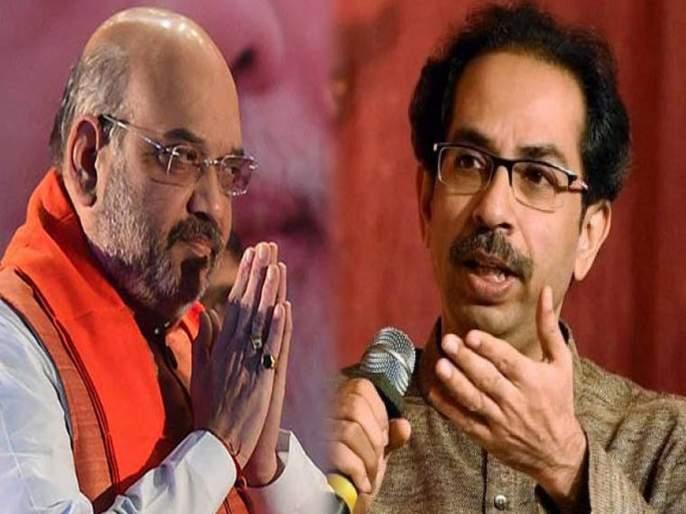 maharashtra election 2019 bjp president amit shah hits out at shiv sena over chief ministerial demand   महाराष्ट्र निवडणूक 2019: ...मग तेव्हाच शिवसेनेनं आक्षेप का घेतला नाही?; अखेर अमित शहा उतरले रणांगणात