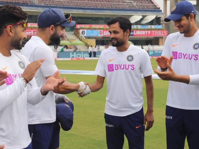 India vs South Africa, 3rd Test : 15 years after 1st first-class match, Shahbaz Nadeem makes Test debut   India vs South Africa, 3rd Test : पंधरा वर्षांच्या क्रिकेट कारकिर्दीनंतर 'या' खेळाडूचं टीम इंडियात पदार्पण