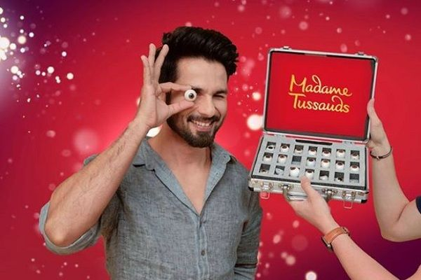 After Deepika Padukone, Shahid Kapoor will also be seen in Madame Tussauds | दीपिका पादुकोणनंतर आता शाहिद कपूरही दिसणार मॅडम तुसादमध्ये, शेअर केला फोटो