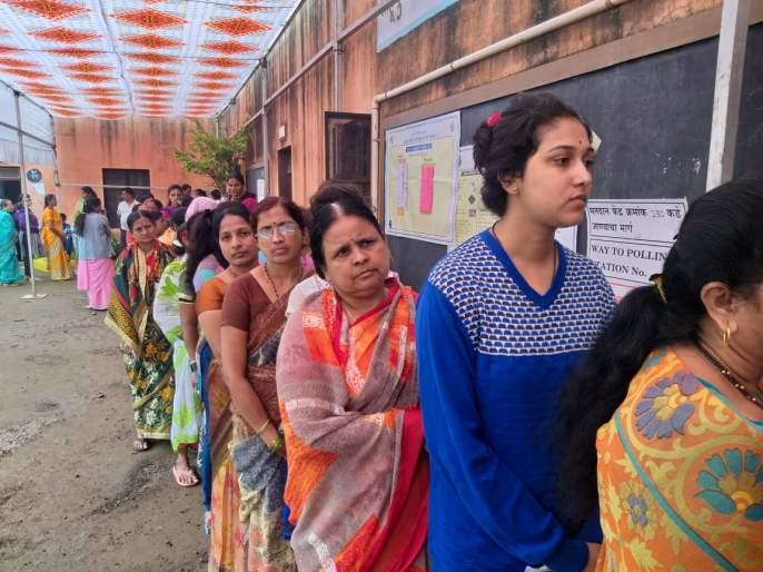 7.5% voting for Satara Lok Sabha and Vidhan Sabha   Maharashtra Election 2019 : सातारा लोकसभा आणि विधानसभेसाठी ४८.४५ टक्के मतदान