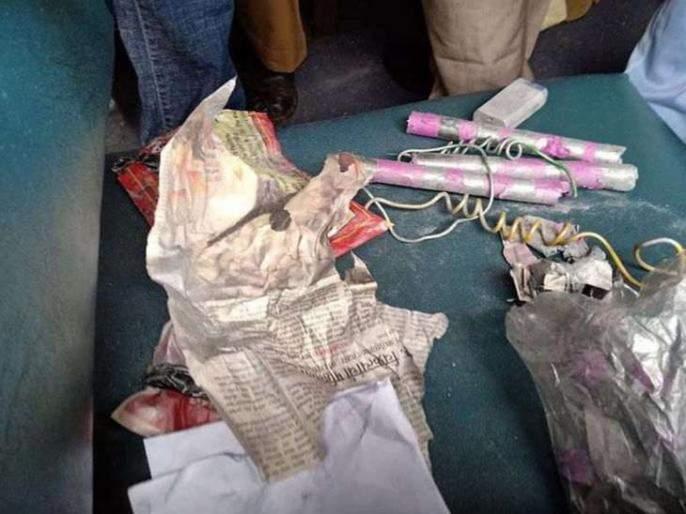jiletine sticks case: Police detained those who conspiracy to arrest in personal enmity between two individuals | जिलेटीन कांड्याप्रकरण : पूर्ववैमनस्यातून कट आखणाऱ्यास पोलिसांनी घेतले ताब्यात