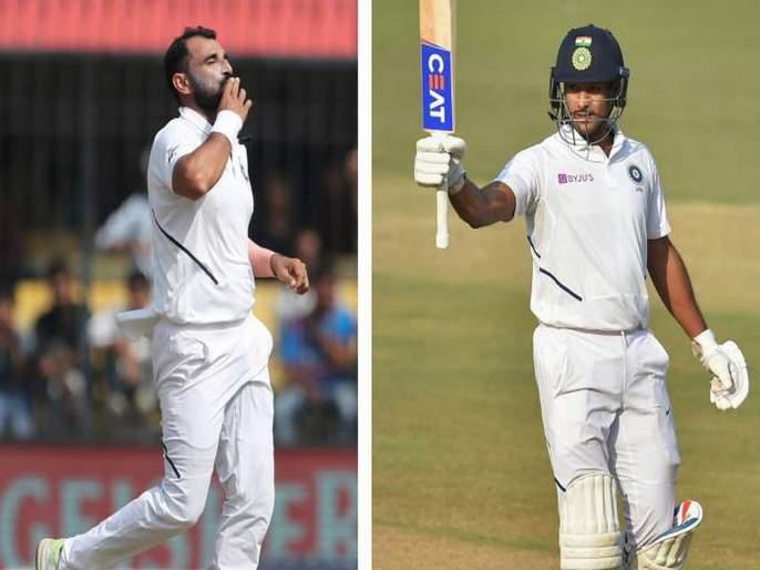 Mohammed Shami, Mayank best in ICC Test rankings | आयसीसी कसोटी क्रमवारीत मोहम्मद शमी, मयांक सर्वोत्तम स्थानी