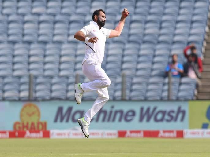 India vs South Africa, 2nd Test : Milestone for Mohammed Shami, He completes his 300 International Wickets | India vs South Africa, 2nd Test : मुथूसामीची विकेट घेताच मोहम्मद शमीनं रचला इतिहास, दिग्गजांच्या पंक्तित स्थान