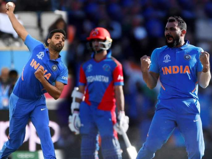 ICC World Cup 2019 : Sachin Tendulkar picks one among Shami and Bhuvneshwar for West Indies clash | ICC World Cup 2019 : भुवनेश्वर कुमार की मोहम्मद शमी? सचिन तेंडुलकरनं केली एकाची निवड