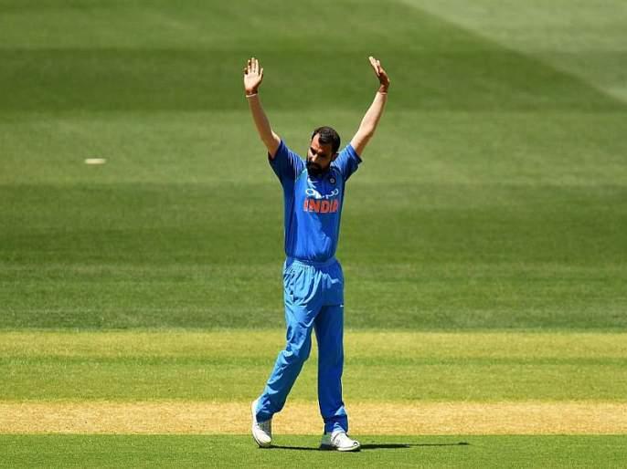 India vs NewZealand ODI : Mohammad Shami dedicate 100 ODI wicket's feat to his Daughter   India vs NewZealand ODI : 'बापमाणूस' मोहम्मद शमीनं 'तो' विक्रम केला मुलीला समर्पित