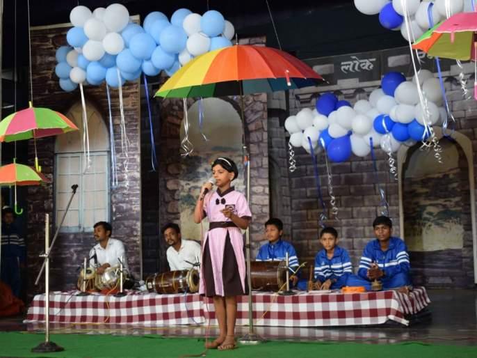 Rain fall in Santiniketan | शांतिनिकेतनमध्ये रंगली पाऊसगाणी, विद्यार्थी, शिक्षक स्पर्धेत सहभागी
