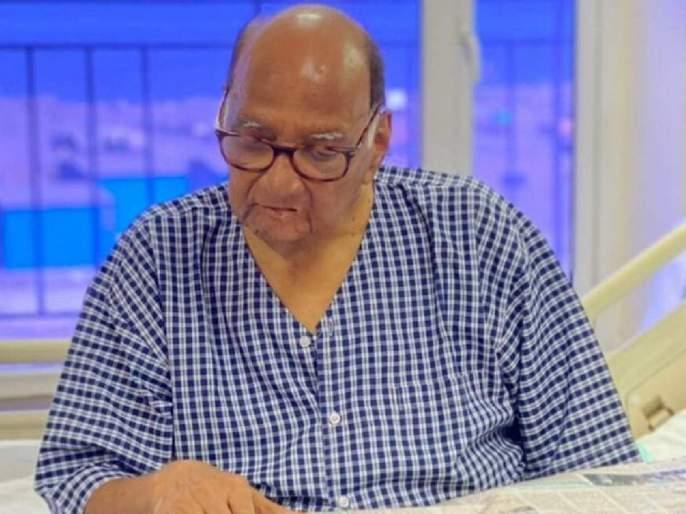 nawab malik says sharad pawar was admitted at breach candy hospital last evening | Sharad Pawar: शरद पवार पुन्हा ब्रीच कँडी रुग्णालयात दाखल; नवाब मलिकांनी दिली माहिती