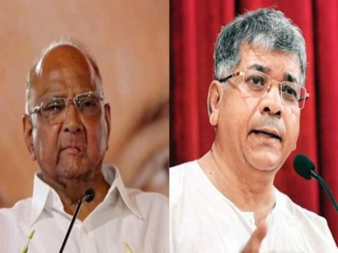Pawar's will be Shock when i am tell parth's bad habits : Prakash Ambedkar | नातवाचे गुण सांगितले तर पवारांना 'शॉक' बसेल : प्रकाश आंबेडकर