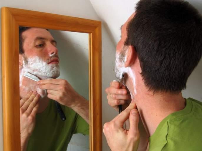CoronaVirus Lockdown News: Beard-cutting has to be done at home for a month now   CoronaVirus Lockdown News: आता महिनाभर दाढी-कटिंग घरातच करावे लागणार