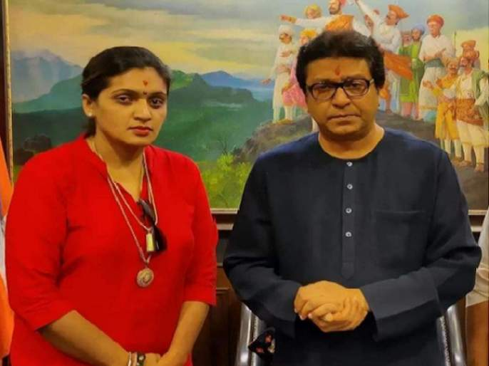 MNS leader Rupali Patil has demanded the suspension of police and officers in the Jalgaon incident | 'आता आम्हाला त्या अधिकारी अन् पोलिसाला कपडे काढून चोप द्यावा लागेल'; मनसेचा इशारा