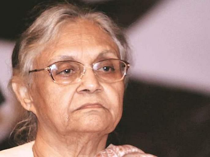 He campaigned to remove Sheela Dikshit from the post | शीला दीक्षित यांना पदावरून दूर करण्यासाठी जोरदार मोहीम