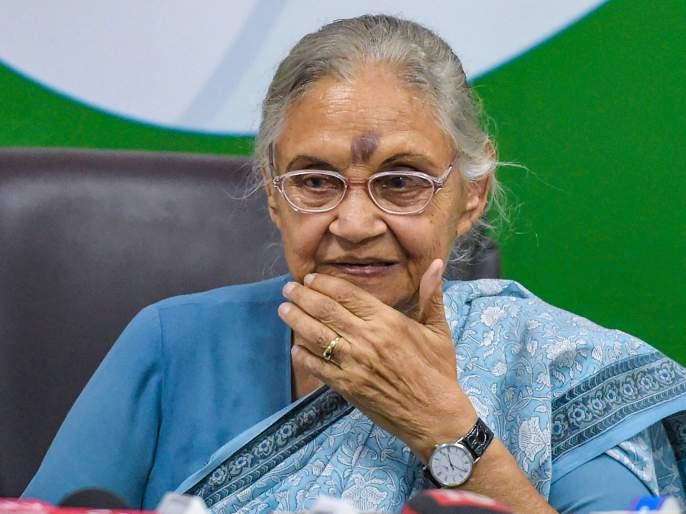 sheila dikshit former cm delhi son sandeep dikshit congress | Sheila Dikshit : 'दिल्लीच्या विकासासाठी लोक शीलाजींची नेहमीच आठवण काढतील'