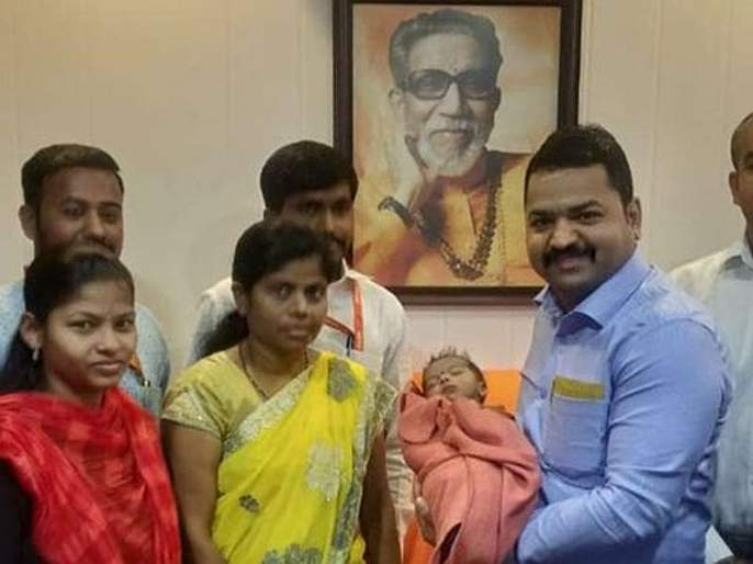 girl was thrown by his father, Shiv Sena's medical help cell save his life MMG | ह्रदयाला छिद्र... चिमुकलीला बापाने टाकलं, शिवसेनेच्या वैद्यकीय मदत कक्षानं जीवदान दिलं