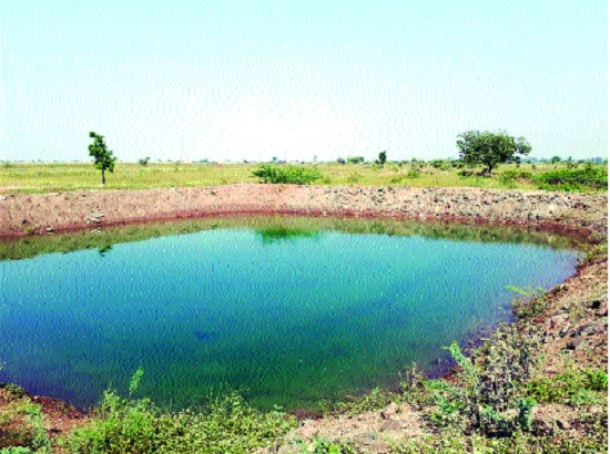 Orchard with a protected water reservoir! In Satara district 1307 farmers have completed their farming | संरक्षित पाणीसाठ्याने बहरल्या फळबागा ! सातारा जिल्ह्यात १३०७ शेततळी पूर्ण