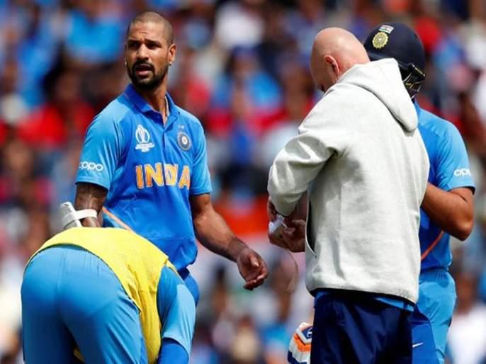 ICC World Cup 2019: 'These' players may get chance for replace Shikhar Dhawan | ICC World Cup 2019 : धवनला पर्याय म्हणून 'या' खेळाडूंची नावे आघाडीवर