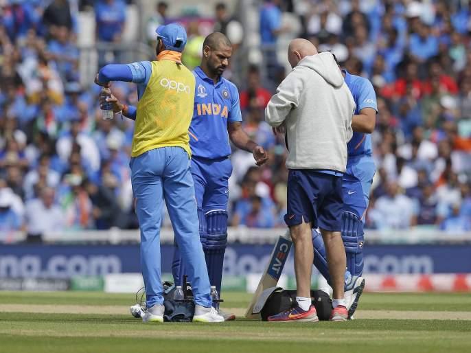 ICC World Cup 2019 : Rishabh Pant to take the flight to England, for the Shikhar Dhawan replacement | ICC World Cup 2019 : धवनच्या दुखापतीनंतर 'हा' खेळाडू इंग्लंडसाठी रवाना; पाकविरुद्ध खेळणार?