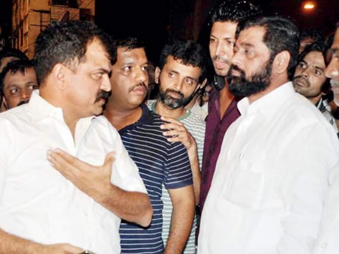 Shinde-Awhad friendship breaks down | शिंदे-आव्हाड मैत्रीला फुटला पाझर