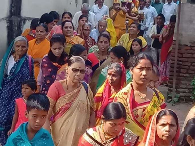 Jain devotees from across the state gather in Shirpur | शिरपूरात जमली राज्यभरातील जैन भाविकांची मांदियाळी!