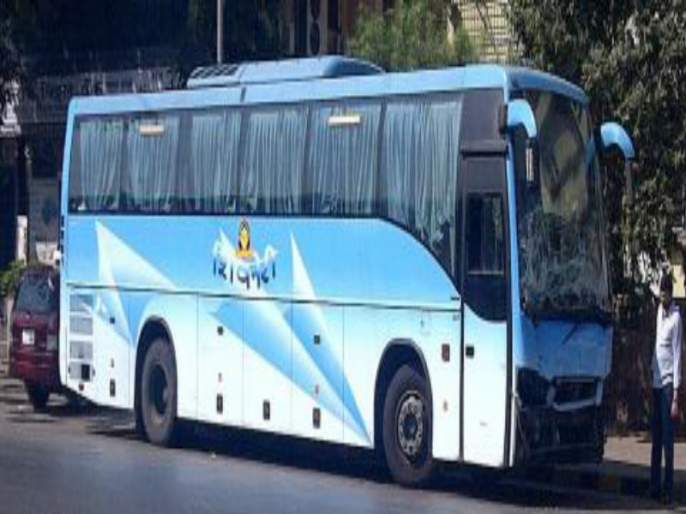 No perfect timing to thane Shivneri bus ; Travelers panic | ठाणे शिवनेरीला वेळेचे वावडे ; प्रवाशांना मनस्ताप