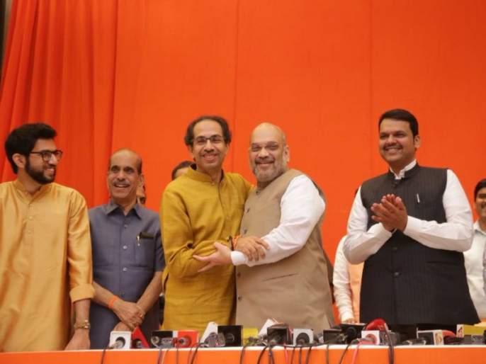maharashtra vidhan sabha 2019 Shiv Sena-BJP Will Win More than 220 Seats in Maharashtra Assembly Say Alliance Leaders | Vidhan Sabha 2019 : घटस्थापनेच्या दिवशी बसणार युतीचे घट